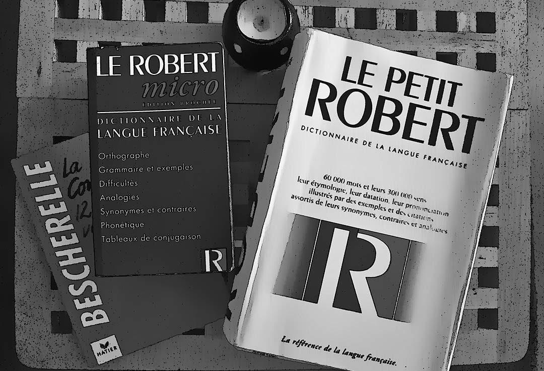 Französische Wörterbücher
