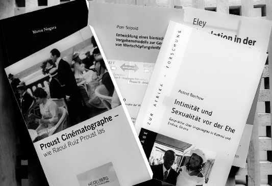 Belegexemplare Sachbücher und Ratgeber Foto: Ina von Brunn